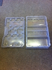 Vac Form Trays Clear PVC
